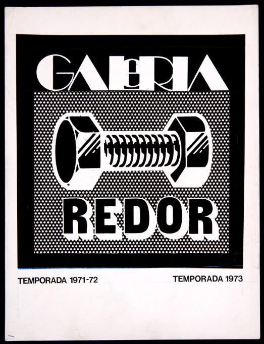 Logo de la Galería Redor, diseño de Alberto Corazón