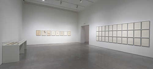 Gallery View of Room 104.07 Elena Asins. Fragments of Memory. Homage