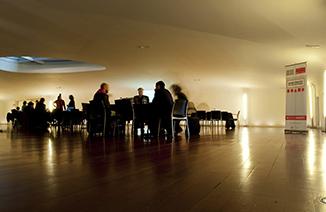 Mesas de trabajo Horizontes del Arte, 2012