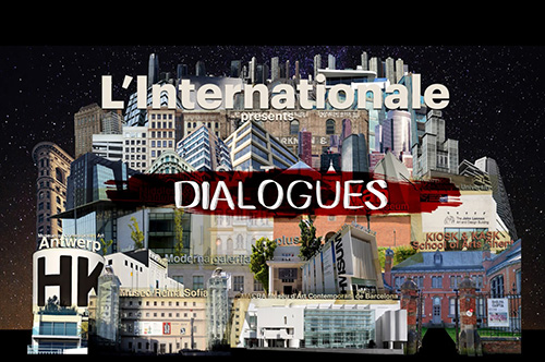 A still from L'Internationale Dialogues. The Questions