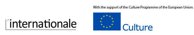 logo L'Internationale - With the support of the Culture Programme of the European Union