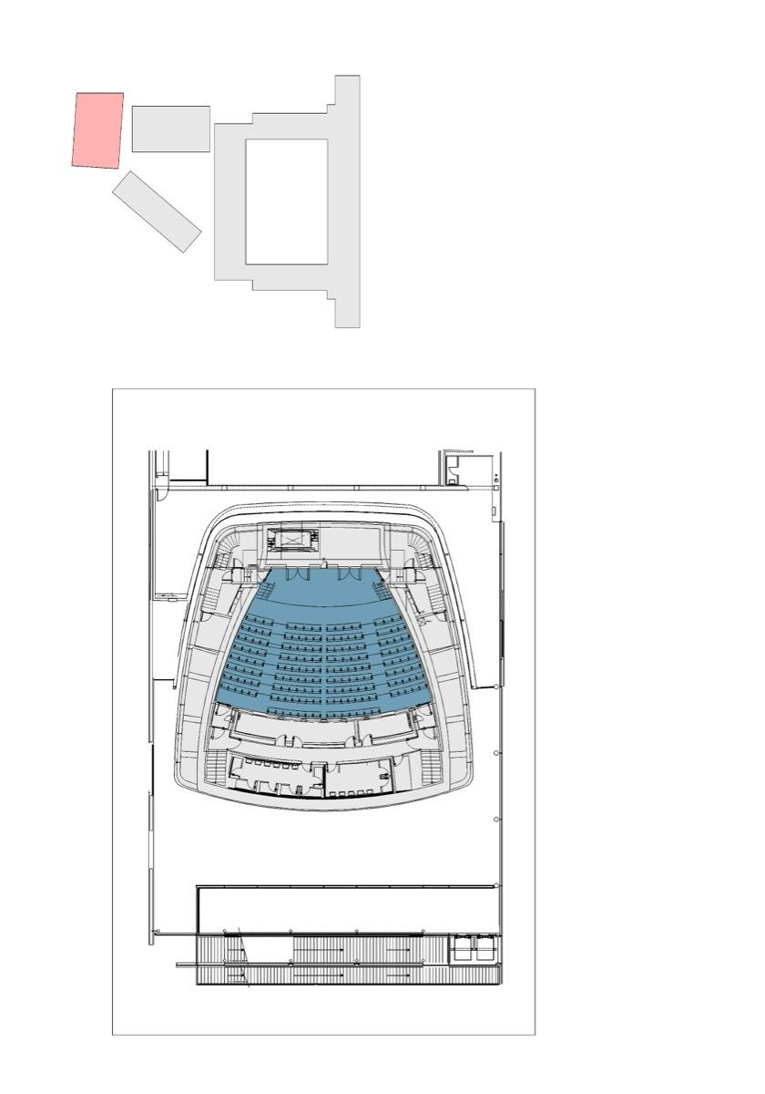 Plano del auditorio 200