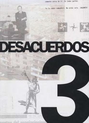 Portada de Desacuerdos 3. Sobre arte, políticas y esfera pública en el Estado español. Cuaderno 3.