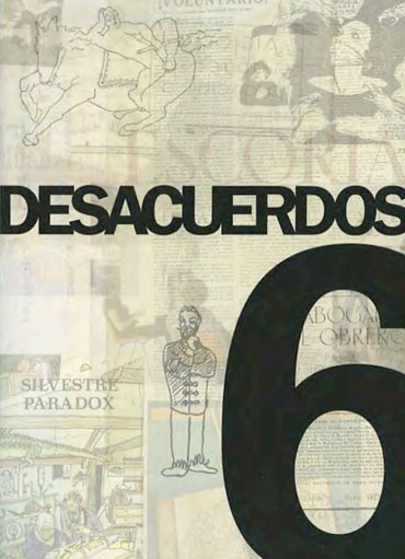 Portada de Desacuerdos 6. Sobre arte, políticas y esfera pública en el Estado español. Cuaderno 6.