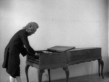 Jean-Marie Straub and Danièle Huillet. Chronik der Anna Magdalena Bach (Chronicle of Anna Magdalena Bach). Film, 1968
