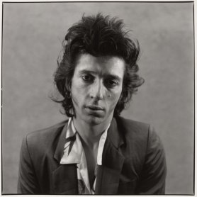 Alberto García Alix. Johnny Thunders, 1988. Gelatinobromuro de plata sobre papel, 47 x 46,5 cm