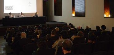 Un momento de las sesiones impartidas por Nilo Valenzuela. Museo Reina Sofía, 2008