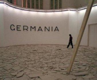 Hans Haacke. Pabellón de Alemania. Bienal de Venecia. Instalación, 1993.