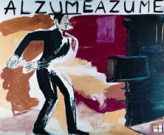 René Daniëls.Alzumeazume. Painting, 1984. Kunstmuseum Wolfsburg