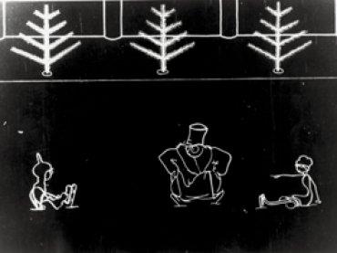 Nicolai Bartram. Katok [Pista de hielo]. Película, 1927