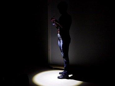 Un momento del taller de sombras