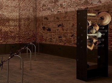 Vista de sala de la exposición ROSI AMOR, Museo Reina Sofía 2017