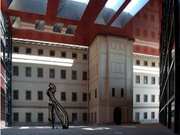 Vista del Patio Nouvel. Museo Reina Sofía