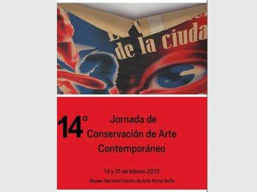 14 Jornada de Conservación de Arte Contemporáneo