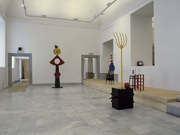 Exhibition view. Miró escultor, 1986