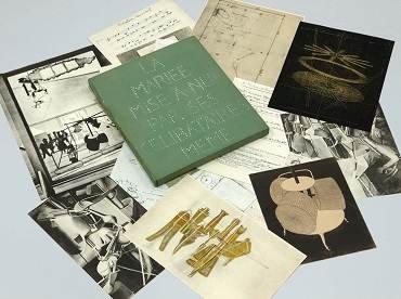 Marcel Duchamp. La Mariée mise à nu par ses célibataires même (Boîte verte), 1934. Sculpture. Museo Nacional Centro de Arte Reina Sofía Collection, Madrid