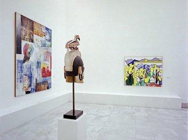 Vista de sala de la exposición. Colección Beyeler, 1989