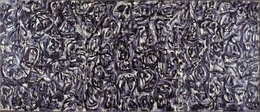 Antonio Saura. La gran muchedumbre, 1963. Pintura. Colección Museo Nacional Centro de Arte Reina Sofía, Madrid