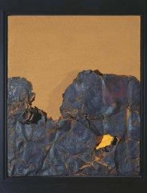 Gustavo Torner. Ocre-Chatarra oxidada, 1961-62. Pintura. Colección Museo Nacional Centro de Arte Reina Sofía, Madrid