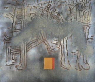 José Manuel Broto. Las primeras cosas, 1991. Pintura. Colección del artista
