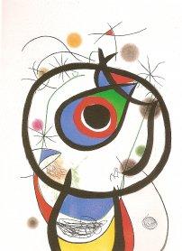 Joan Miró. Galathée, 1976. Arte Gráfico. Colección Museo Nacional Centro de Arte Reina Sofía, Madrid