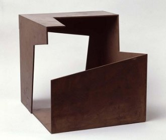 Jorge Oteiza. Caja vacía (Empty Box), 1958. Sculpture. Museo Nacional Centro de Arte Reina Sofía Collection, Madrid