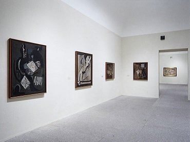Vista de sala de la exposición. Bores esencial. 1926-1971, 1999