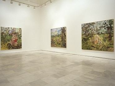 Exhibition view. Cecily Brown, 2004