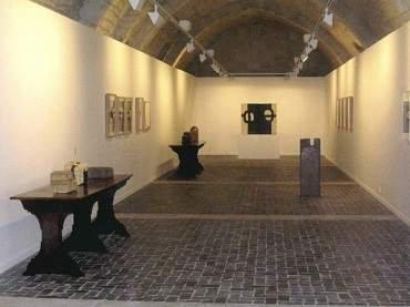 Exhibition view. Eduardo Chillida. Cántico espiritual, 2005