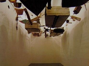 Exhibition view. Cocido y crudo, 1994