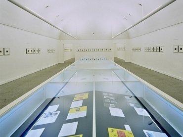 Exhibition view. Duane Michals, 1998
