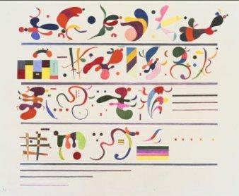 Vasily Kandinsky. Succession, 1935 © Vassily Kandinsky, VEGAP, Madrid, 2012