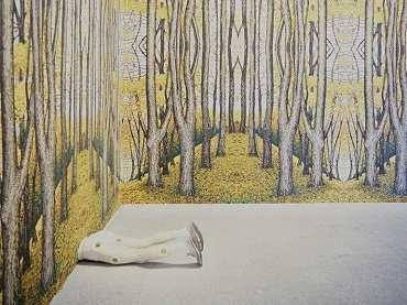 Vista de sala de la exposición. Robert Gober, 1992