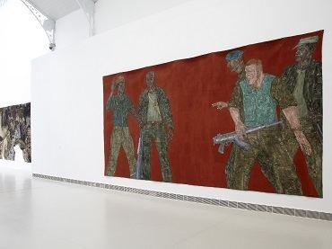 Exhibition view. Leon Golub, 2011