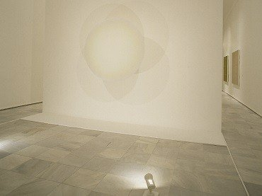 Exhibition view. Robert Irwin, 1995