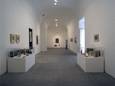 Exhibition view. Jiři Kolář, 1996