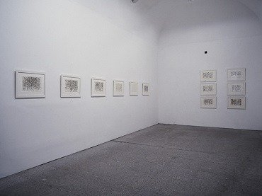 Exhibition view. Brice Marden. Cold Mountain, 1993