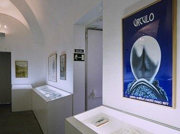 Vista de sala de la exposición. Galería Multitud, 1995