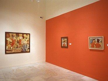 Vista de sala de la exposición. José Jorge Oramas: metafísico solar, 2003