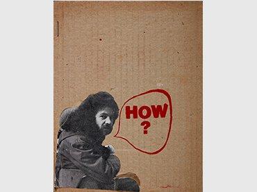 Raúl Marroquín, How? Maastricht: Agora; Beau Geste Press, 1974  Museo Nacional Centro de Arte Reina Sofía  © Raúl Marroquín