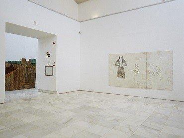 Vista de sala de la exposición. Juliao Sarmento. Flashback, 1999