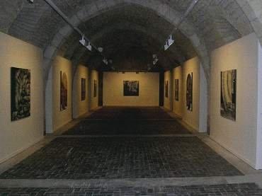 Vista de sala de la exposición. Juan Carlos Savater. Estrella matutina, 2006