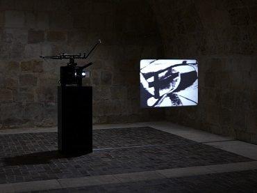 Exhibition view. Tacita Dean: The Friar's Doodle, 2010