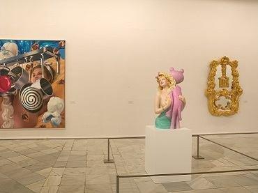Vista de sala de la exposición. Colección Taschen, 2004