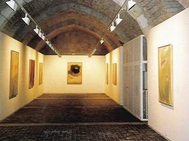 Exhibition view. Esteban Vicente en Silos, 2001