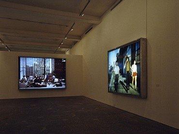 Vista de sala de la exposición. Jeff Wall, 1994