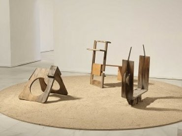 Toys by Ángel Ferrant in the exhibition Playgrounds