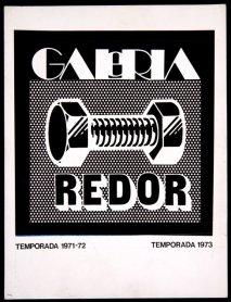 Logo de la Galería Redor, diseño de Alberto Corazón. Archivo Redor-Calabuig. Centro de Documentación