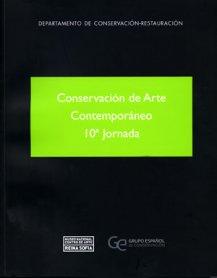 Conservación de arte contemporáneo. 10ª jornada