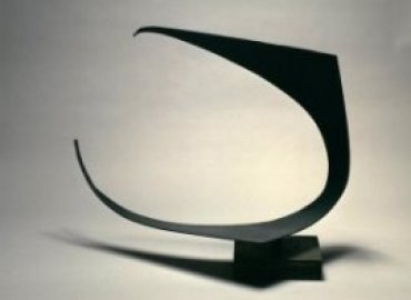 Jorge Oteiza. Suspensión vacía. Estela funeraria. Homenaje a René Couzinet (A), 1957